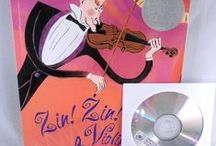 Zin! Zin! Zin! a Violin by Lloyd Moss - August 2015 Ivy Kids kit / August Ivy Kids kit contains the Caldecott Honor Book Zin! Zin! Zin! a Violin by Lloyd Moss plus over 10 fun, creative and educational activities inspired by the story.