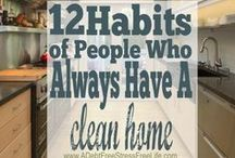 House cleaning & organizing tips