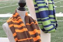 Scoreboard KAL / Michelle Hunter hosts our Scoreboard Knit-Along this football season!  www.scoreboardKAL.com