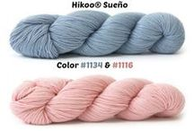 Pantone's Color(s) of the Year 2016 / Color inspiration to get you inspired to knit and crochet with these two great colors!