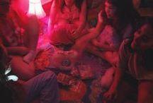 neon pink faeries / .