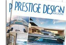 Cover / Cover of Prestige Design Magazine