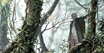 [aes|anim] mushishi / i will never see you again. but remember this: there is no place in this world where we don't belong. the same goes for you the natural order allowed you to come back that means you belong in this world, no matter where you might be
