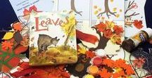 Leaves by David Ezra Stein Ivy Kids Kit for November 2016 / Art, math, literacy, and science children's activities inspired by the book Leaves by David Ezra Stein