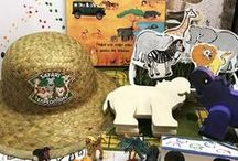 Safari / Safari themed children's educational activities. Math, literacy, art, and science hands-on projects, experiments, and crafts.