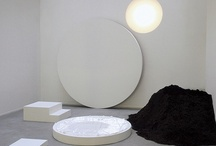 Art in space / Installations, exhibition scenes, studios and more