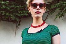Doll's wardrobe / Vintage inspired tee dresses, swing dresses, cute tops & skirts!
