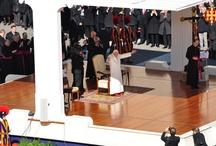 Comiat Benet XVI, conclave i elecció Francesc