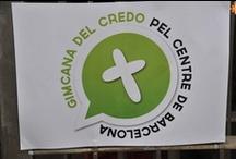 Gimcana sobre el Credo / Gimcana sobre el Credo pel centre de Barcelona. FOTOS: Ramon Ripoll