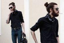 LONG HAIRED BEARDED MEN