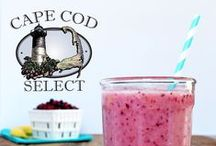"""Fresh Frozen Cranberry Smoothies! / Cape Cod Select """"Frozen is the New Fresh"""" whole frozen cranberries are a great way to jazz up your daily smoothies and cocktails drinks. Less sugar and full of antioxidants!"""