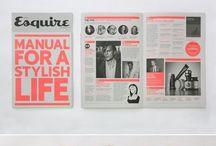 Magazine Designs / Ideas & Aesthetics