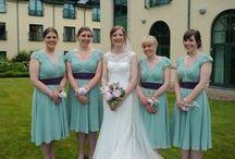 Vintage style wedding inspiration / Unique, vintage-style bridesmaid and wedding-guest dresses
