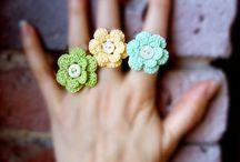 Collares, pendientes, anillos, pulseras / Collares, pendientes, anillos y pulseras a crochet