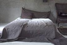 Bedroom ideas / Bedroom ideas. Minimalistic scandinavian bedrooms, half painted walls.
