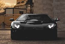 Dark Whips / Luxury and exotic cars with an artistic view shot with a dark, shadowy or night background
