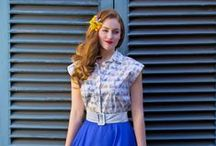 Spring / Summer 15 Lookbook / Weekend Doll's SS15 collection - From retro glamour, cute weekend outfits and elegant special occasion wear, our staple pieces cover all occasion.   http://www.weekenddoll.co.uk/SS15-Lookbook.html