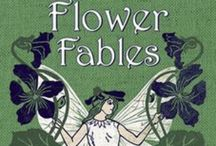 "Flower Fables (Louisa May Alcott) / ""When next we meet in the Fairy dell, May the silver moon's soft light Shine then on faces gay as now, And Elfin hearts as light. Now spread each wing, for the eastern sky With sunlight soon will glow. The morning star shall light us home: Farewell! for the Elves must go."" --Louisa May Alcott"