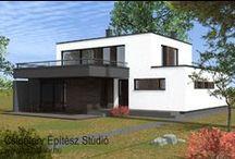 Lakoepulet stilusok / Különböző stílusú lakóépületek
