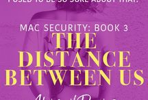 The Distance Between Us / MAC Security Series: Book 3. Kitty & Charlie.