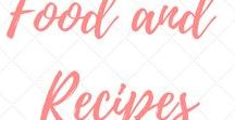 Food and Recipes / Food and recipe ideas including Vegan and Gluten Free options and desserts.