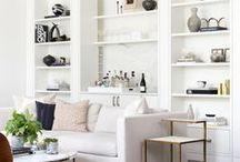 ESD living rooms / Modern & Classic living rooms designed by Bethesda, MD interior design firm Ella Scott Design