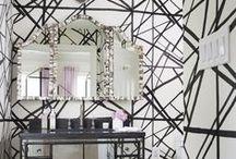 ESD bathrooms / A collection of bathrooms designed by Ella Scott Design, Bethesda, MD Interior Design firm.