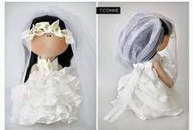 Puppets and dolls tilde / Замечательные образцы работ самодельных кукол.