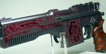 Mauser C96 / Pasam machine pistol