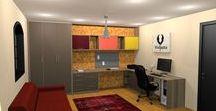 Projetos Nanda Lopes / Renders de projetos de clientes.