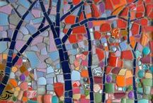 Mosaics Funky & Artsy / THESE DESIGNS ARE TRULY INSPIRING!   ...   ..   -o0o-   ..   ...  It has been attempted where possible to give credit where credit is due... However, if you are the copyright holder of one or more of these, please notify me if your name is not included or if you want to have them removed. Thank you / by Sanette