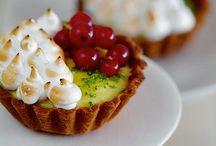 Mini Pastries / Mini Tartlets, Sweet Dumplings, Sweet Ravioli