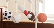 Sports Theme Decorating / Decor and room design that is sure to delight the biggest sports fan in the house.