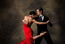Tango the dance of Love / Performed as a smooth beautiful dance between two people who are one.  Dance of passion.