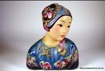 Fabulous Figurines / Beautiful Porcelain Vases or figurines