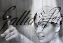 Gallia e Peter's brides / hats - fascinator - wedding -