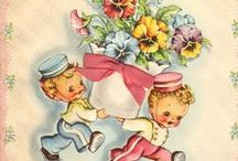 Greeting and Postcards / Beautiful greeting cards you don't find any more.  Vintage Postcards I am sure we have all received in the past.