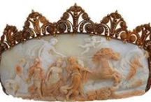 Cameo Appearance, Intaligos / Beautiful Cameo's were originally given to girls on their 18th birthday so they would be lucky in love.