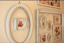 Everything old is new again / Interesting and practical ways of decorating older pieces you would normally throw away, and now they look terrific.  Start hunting.