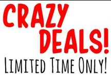Giveaways, Sales & Crazy Deals! / Because we just really, really, REALLY love a good deal. / by Piping Rock Health Products