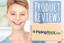Piping Rock Product Reviews / We love teaming up with the talented writers of the blogosphere to get their opinion on our products. Come see what they had to say. / by Piping Rock Health Products