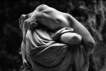 Flesh of stone / Selected sculptors that give the impression of realism, the stone looking life like. / by Vicki Reardon
