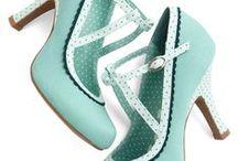 Idées de chaussures Rétro / Simplement quelques inspirations et idées de chaussures vintage, rétro comme je les aime !!