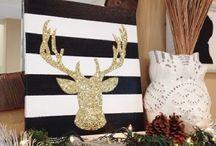 Christmas Decor / ❄️ Ideas for a home made Christmas ❄️