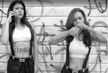 Idees Look Chicana, latina, chola