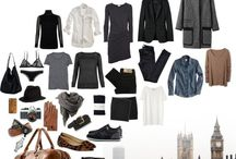 Capsule Wardrobe / Ways to slimline my wardrobe and ways of packing for travel.