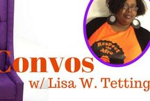 Couch Convos with Lisa W. Tetting / I am conducting interviews with Indie Authors who have interesting books. You can read the full interviews on my website: www.lisawtetting.com