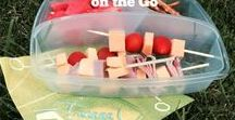 On the Go Recipe Ideas For Every Meal / Quick meals to eat on the run on the way to practice.