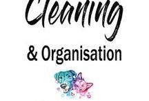 Cleaning und Organisation / Irgendwer muss das auch sauber halten. Ökologisch #Putzen, Putzplan, Organisation, Decluttering, Simplicity, #Ausmisten, #Aufräumen
