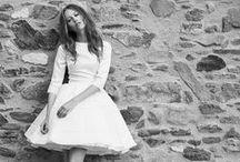 Robes de mariées courtes / Une jolie sélection de robes de mariées courtes et modernes.